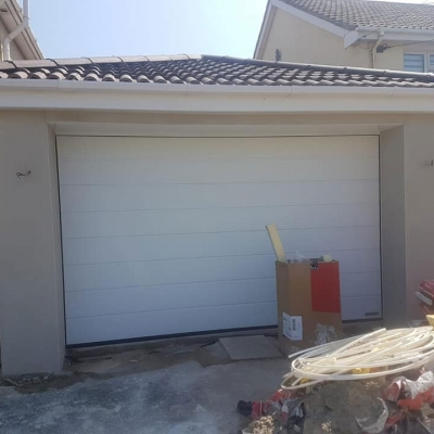 Garage extension project