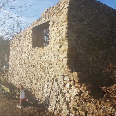 Cob and Lime Build Project