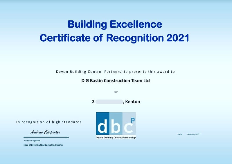 Building Excellence 2021